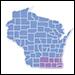 Wisconsin CDC Autism Map