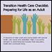 Transition Health Care Checklist Cover