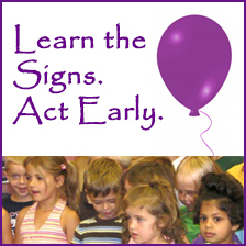 Learn the Signs Act Early Logo